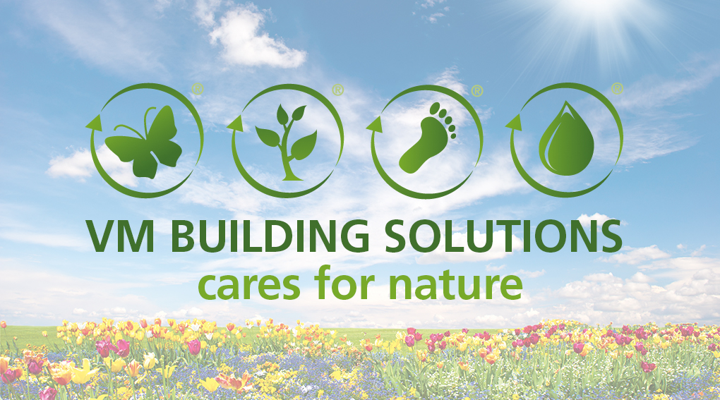 VM Building Solutions cares for nature
